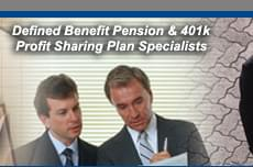 Defined Benefit Pension & 401k Profit Sharing Plan Specialists
